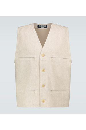 Jacquemus Le Gilet linen vest