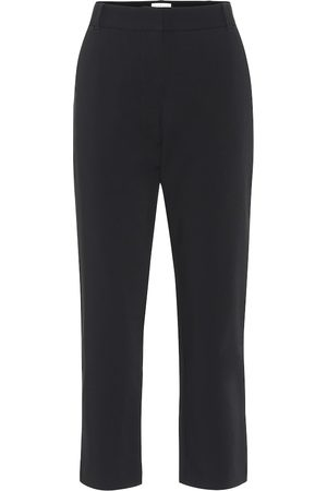 Velvet Lisa slim crêpe pants