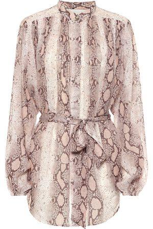 ZIMMERMANN Bellitude ramie blouse