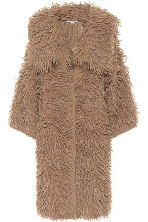 Stella McCartney Alpaca and wool-blend coat