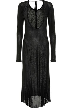 ANN DEMEULEMEESTER Fine-knit midi dress