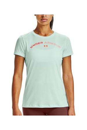 Under Armour Dame Kortermede - Tech Twist Print T-shirt