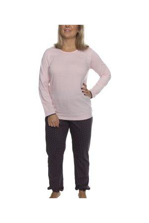 Damella Dame Pyjamaser - Pink Stars Pyjama