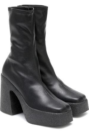 Stella McCartney Faux-leather platform ankle boots