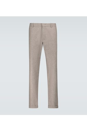 CARUSO Regular-fit wool pants