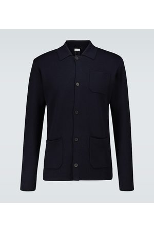 CARUSO Knitted wool cardigan