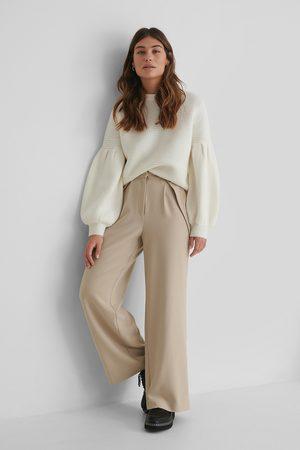The Fashion Fraction x NA-KD Dressbukser Med Høyt Liv