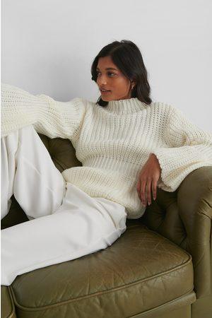 Trendyol Dame Pologensere - Knit Sleeve Detail Sweater