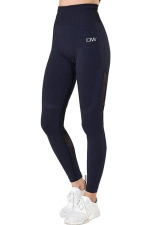 ICANIWILL Queen Mesh Tights Solid Women's