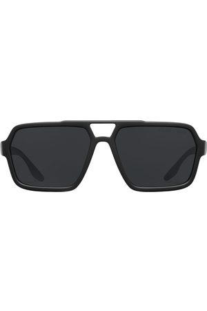 Prada Herre Solbriller - Linea Rossa oversized-frame sunglasses