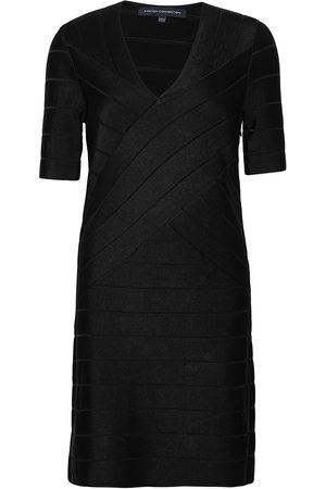 French Connection Dame Midikjoler - Zasha Spotlight V Nk Bdy Dress Knelang Kjole