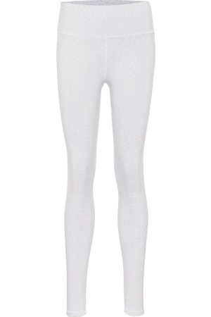 alo Vapor leopard-print high-rise leggings