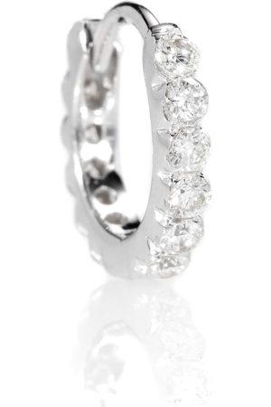 Maria Tash Diamond Invisible Set Eternity 18kt gold earring