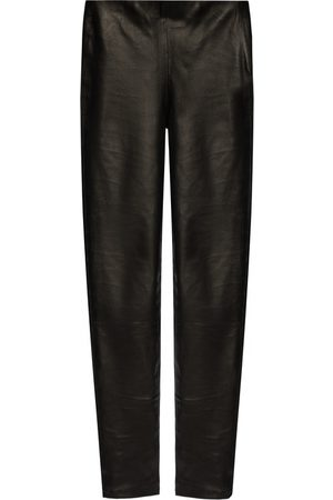 Samsøe Samsøe Leather trousers