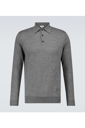 Sunspel Merino wool polo sweater