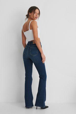 NA-KD Dame Bootcut - Skinny Bootcut Jeans