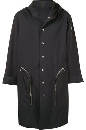 Moncler + Rick Owens Kåper - Nesbitt hooded single-breasted coat