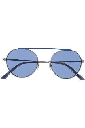 Calvin Klein Two tone round frame sunglasses