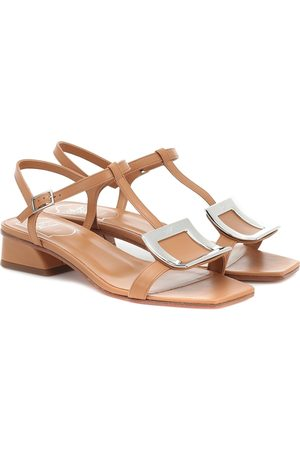 Roger Vivier Bikviv' leather sandals
