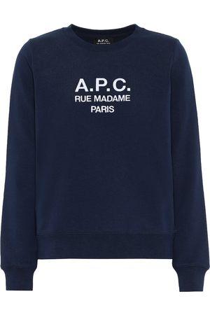 A.P.C Tina printed cotton sweatshirt