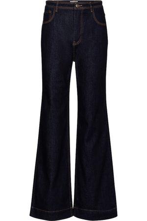 ULLA JOHNSON Theo high-rise wide-leg jeans