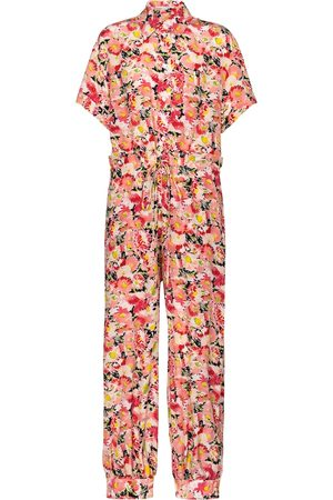 Stella McCartney Johanna floral silk jumpsuit