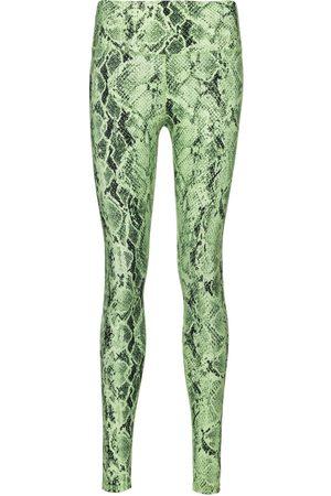 alo Vapor snake-print leggings
