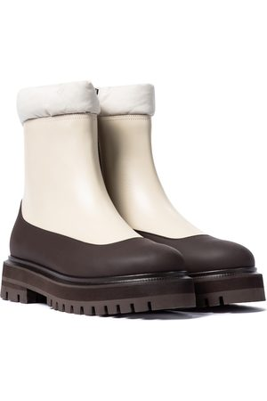 Loro Piana Hyde leather ankle boots