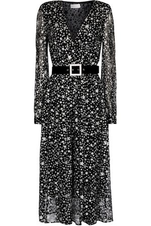 Rebecca Vallance Notte printed midi dress