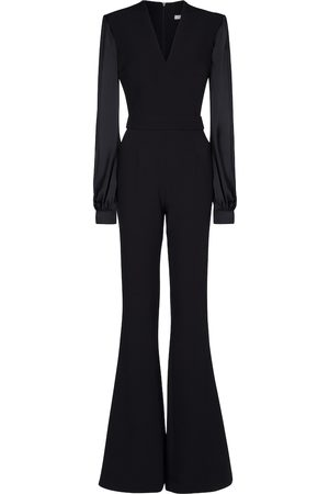 Safiyaa Stretch-crêpe jumpsuit