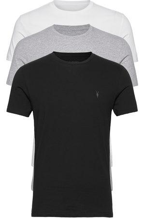 AllSaints Tonic Ss Crew 3 Pk T-shirts Short-sleeved Hvit