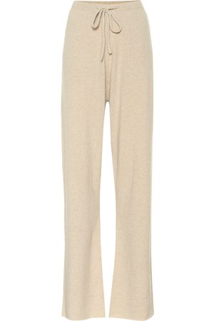 Extreme Cashmere N° 142 Run cashmere-blend trackpants