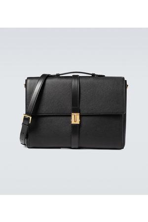 Tom Ford Grained leather T clasp briefcase