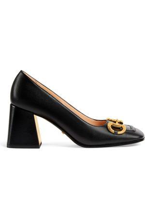 Gucci Dame Pumps - Women's mid-heel pump with Horsebit