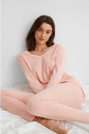 NA-KD Loungewear Cotton Set