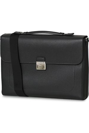 Mont Blanc Herre Kofferter - MST Soft Grain Single Briefcase Black