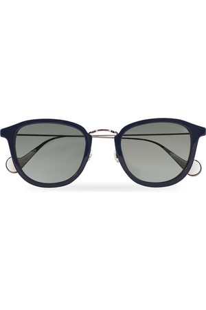 Moncler Lunettes Herre Solbriller - ML0126 Sunglasses Blue/Red