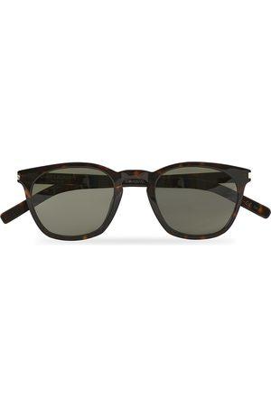 Saint Laurent Herre Solbriller - SL 28 Sunglasses Havana/Grey