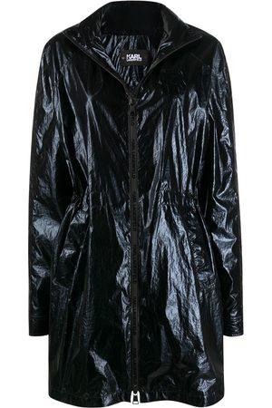 Karl Lagerfeld Dame Parkas - Ikonik metallic parka coat