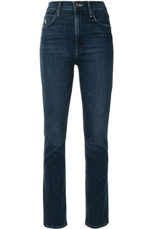 Mother Dame High waist - The Dazzler Hover high-waisted slim-fit jeans