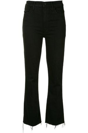 Mother Dame Bootcut - Hustler ankle-crop kick flare jeans