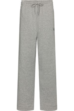 Ganni Isoli cotton-blend jersey trackpants