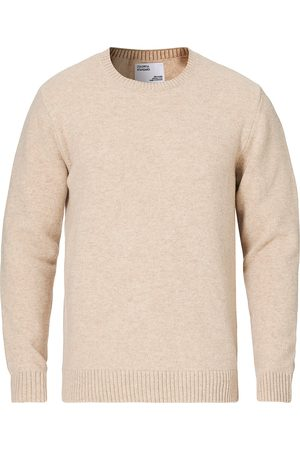 Colorful Standard Classic Merino Wool Crew Neck Ivory White