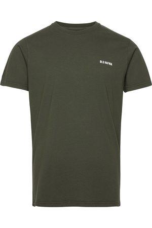 BLS Hafnia Herre Kortermede - Essential Logo T-Shirt Hunter Green T-shirts Short-sleeved