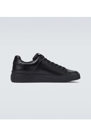 Balmain B-Court leather sneakers