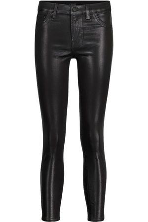 J Brand Dame Skinny - 835 cropped mid-rise skinny jeans