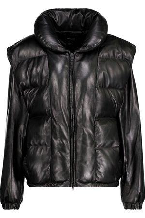 Isabel Marant Malory padded leather jacket
