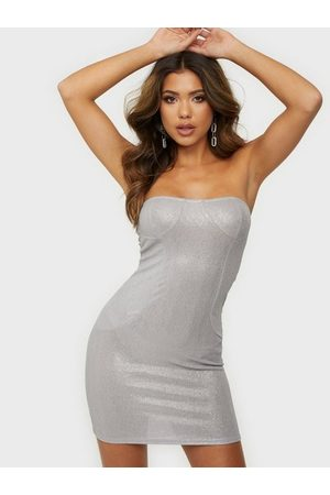 Glamorous Mini Metallic Dress