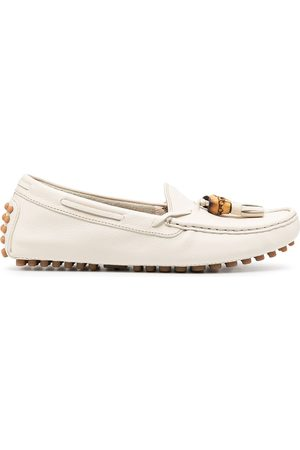 Gucci Dame Loafers - Pebbled tassel loafers