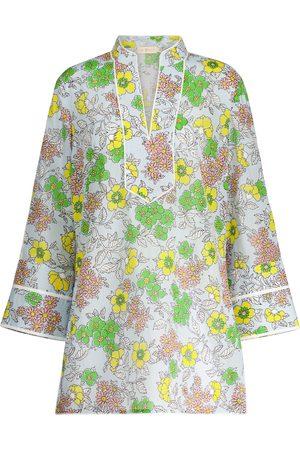 Tory Burch Floral cotton kaftan
